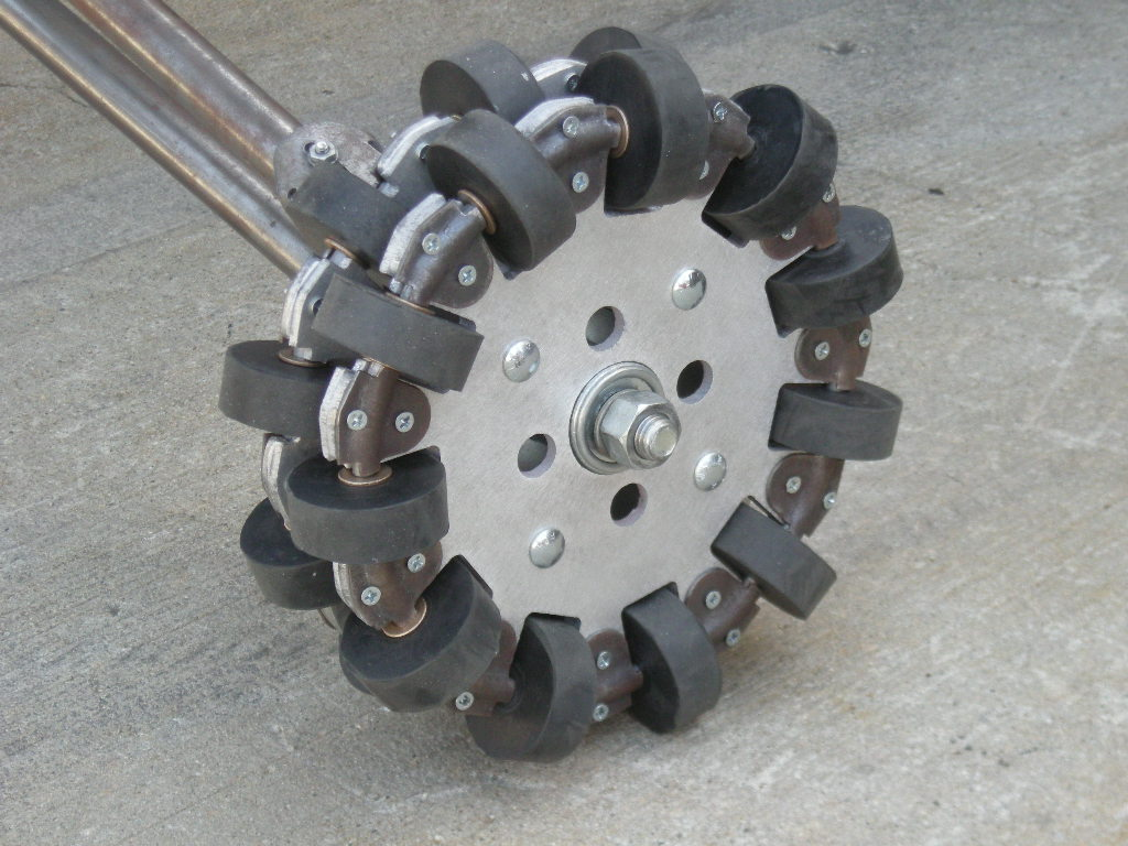 Omnidirectional wheels